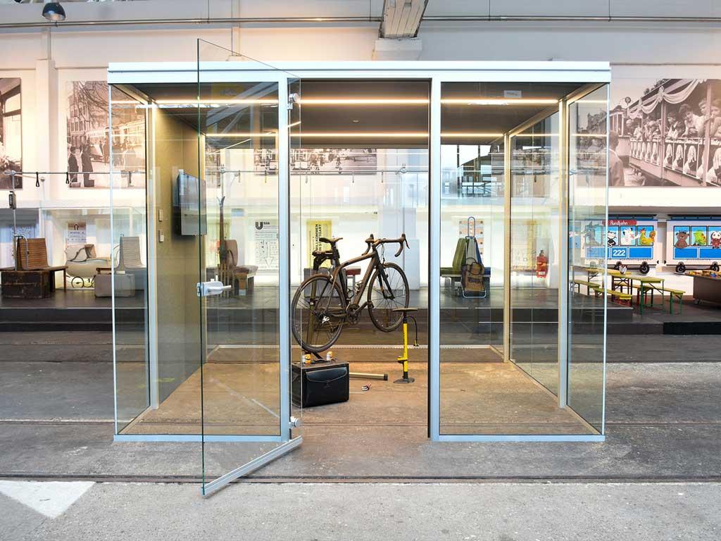 AOS Raum in Raum Cube Line Werkstatt
