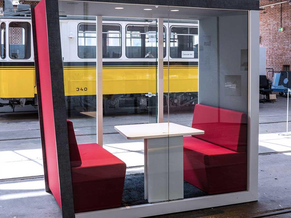 AOS Raum in Raum Silence Cube Meet