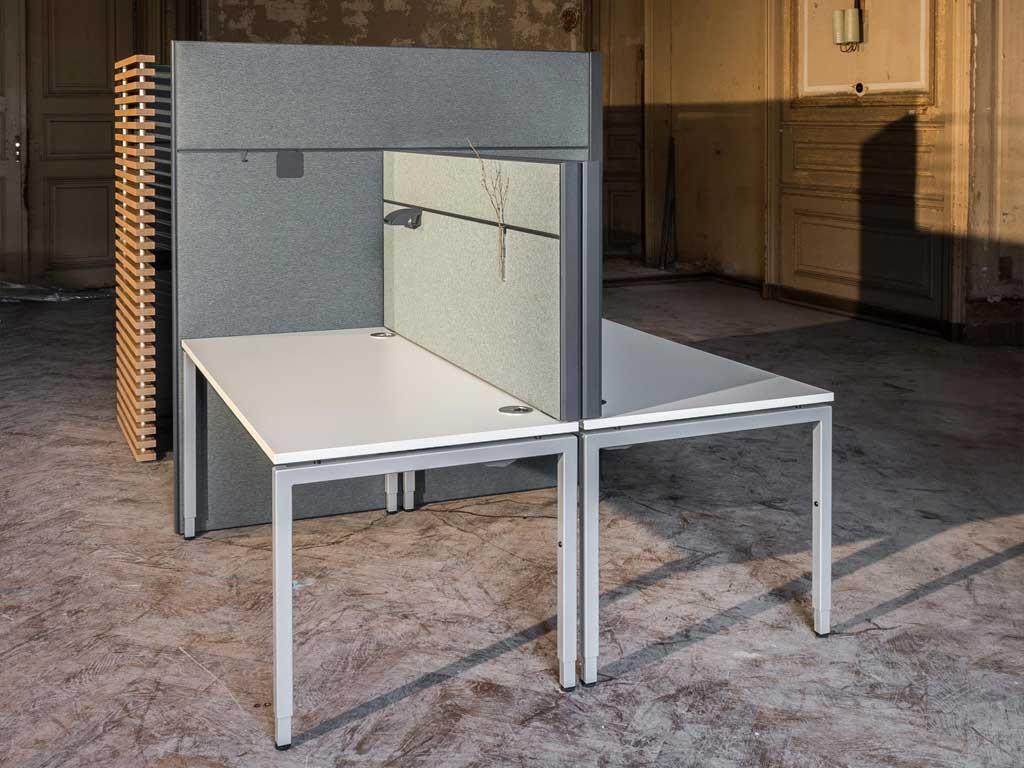 AOS Raumgliederung Prime Line Tischaufsatz