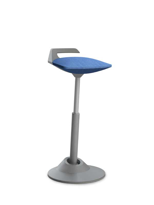 Arbeitsstuhl Stehsitzarbeitsplatz aeris Muvman