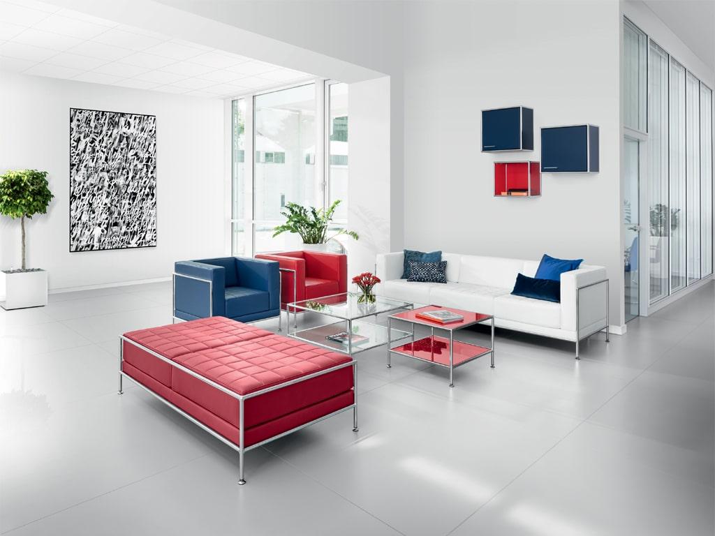 BOSSE Wartebereich Möbel Loungemöbel