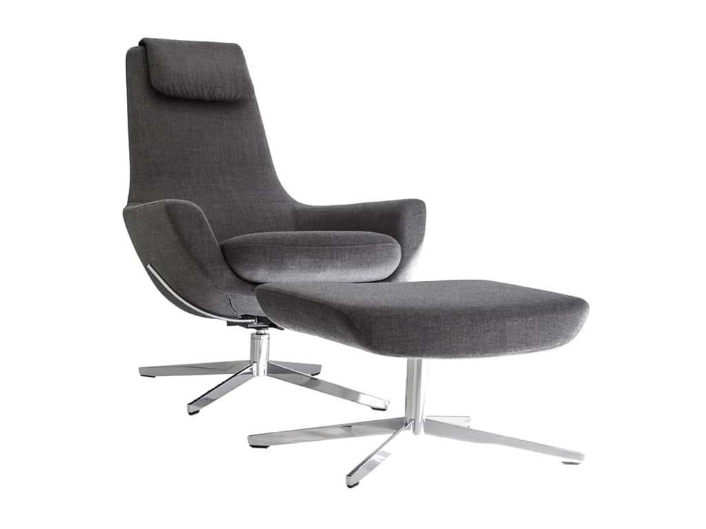 Brune Wartebereich Möbel Loungemöbel