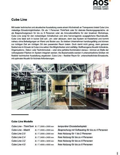 Datenblatt Cube Line