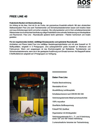 Datenblatt Free Line