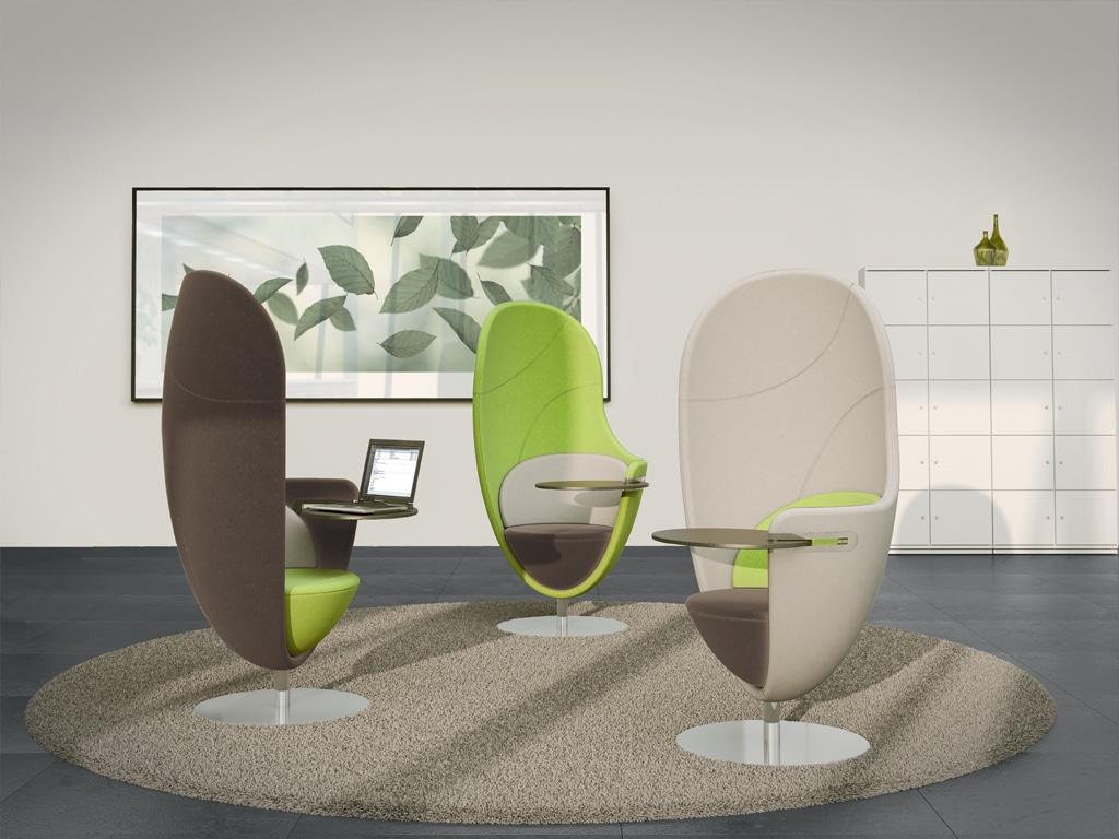 König + Neurath Chair Wartebereich Möbel Loungemöbel
