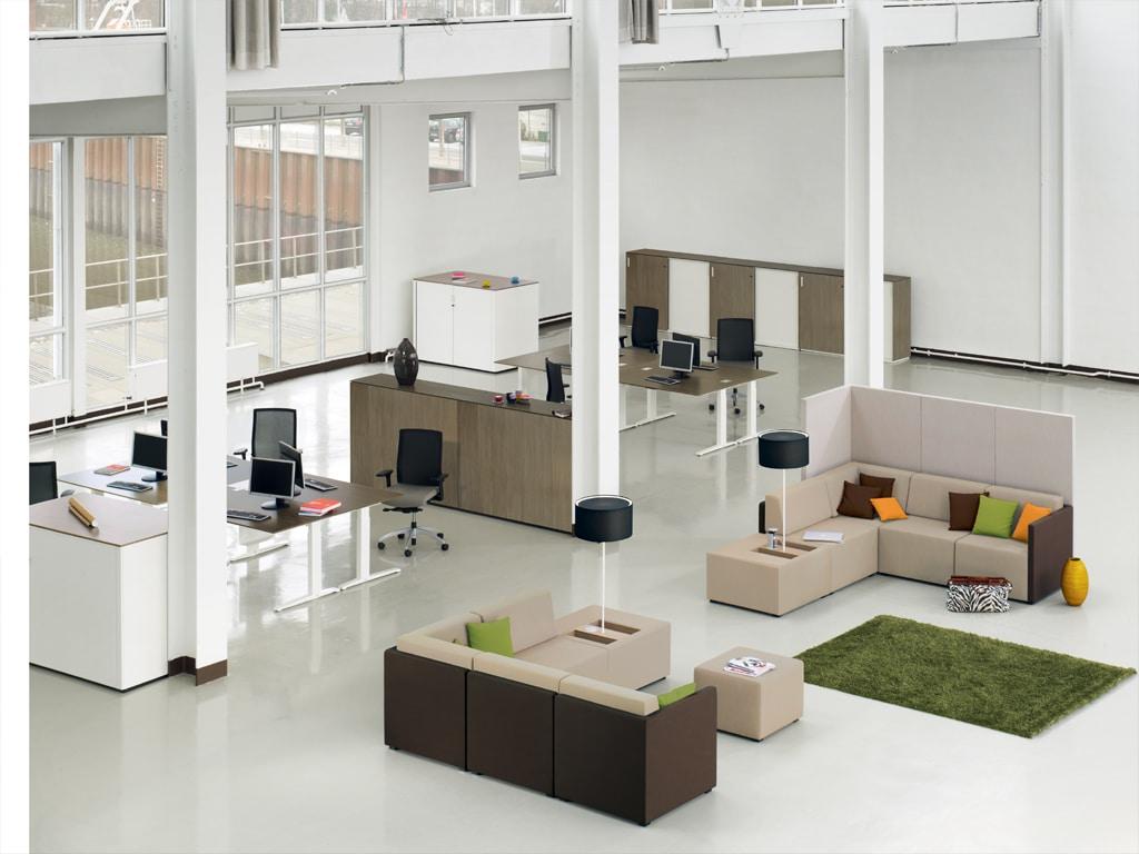 König + Neurath NET WORK PLACE Wartebereich Möbel Loungemöbel