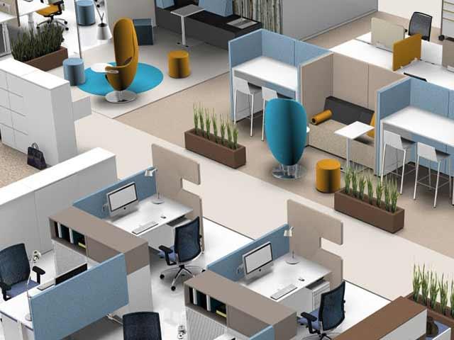 Büromöbel Büroarbeitsplätze